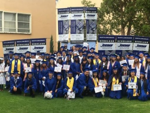 Rex Richardson Celebrates Jordan High Grads Enrolling in Higher Education