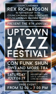Con Funk Shun & DW3 to Headline 8th Annual Uptown Jazz Festival